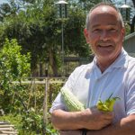 Larry Clark, Steward of the River Road Community Garden